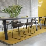 CSrugs chalet 810010 yello grey temaform