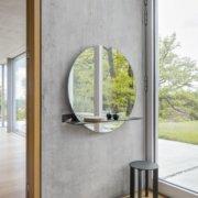 SCHÖNBUCH cut granit spiegel hocker temaform